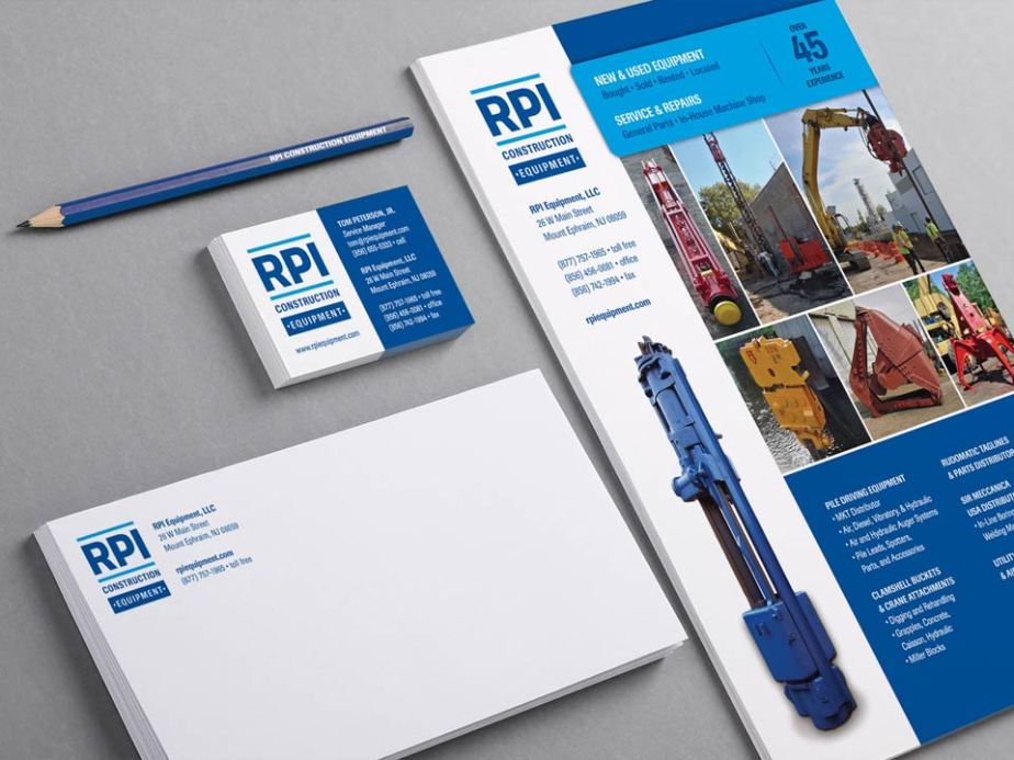 RPI Construction Equipment Stationery