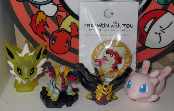 New Arrivals Jolteon-Giratina-Mew-Growlithe