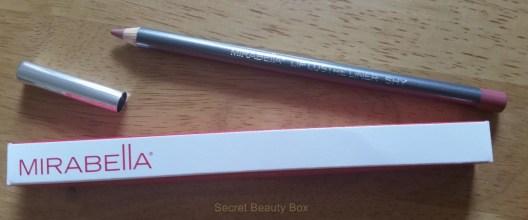 mirabella lip pencil, love me beauty