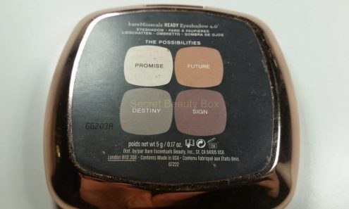 bare minerals eyeshadow the possibilities