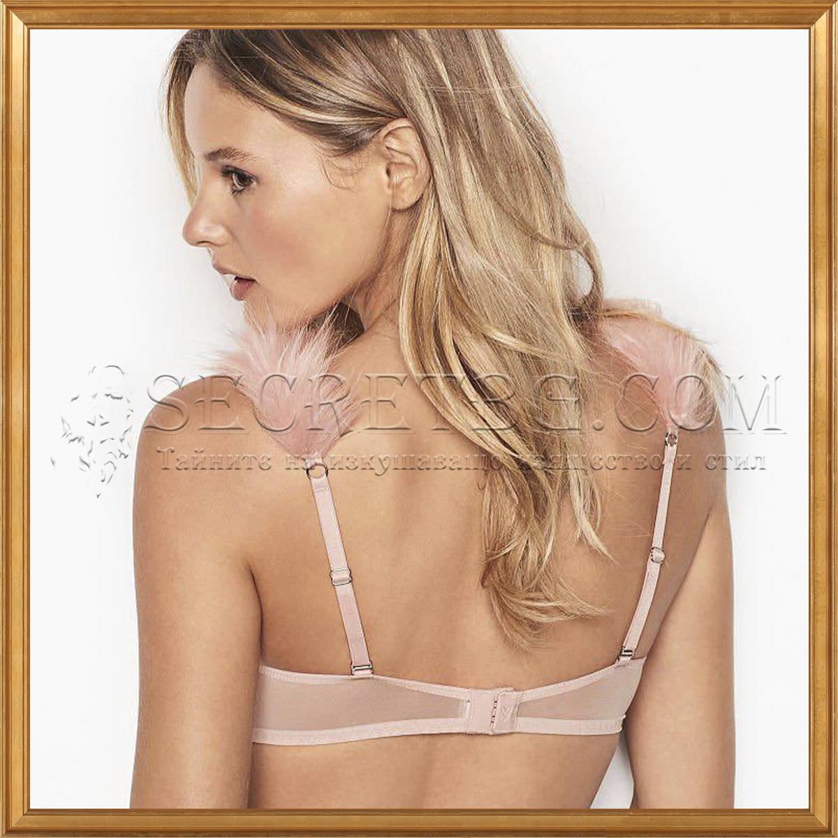 Сутиен Victoria's Secret Lihghtly Lined Demi гръб