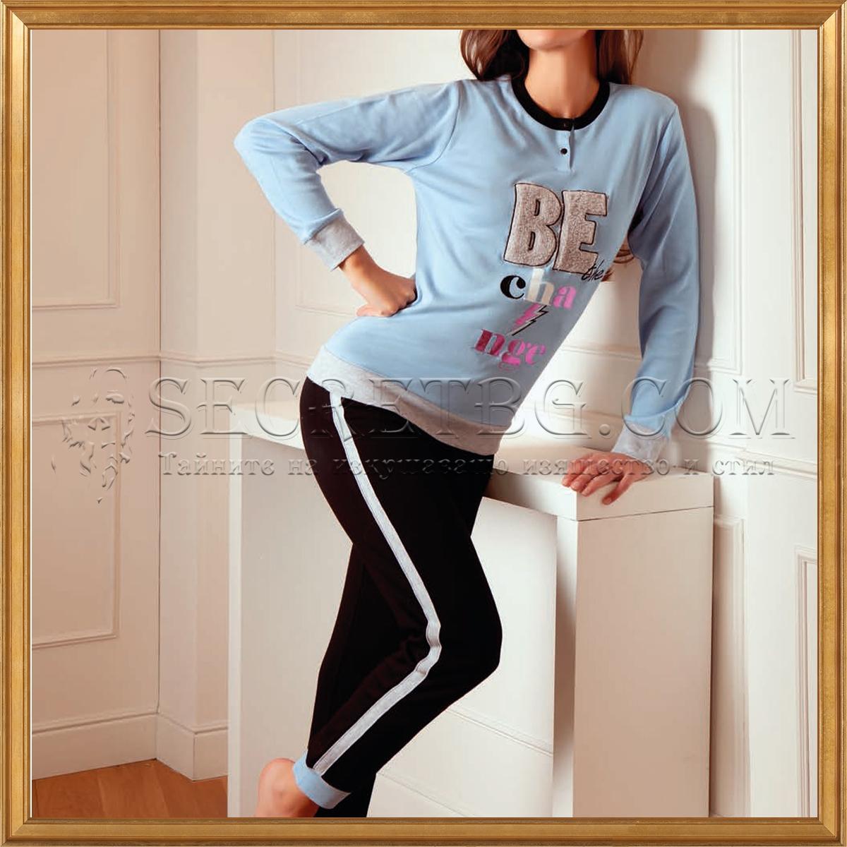 дамска пижама Cotonella 420000