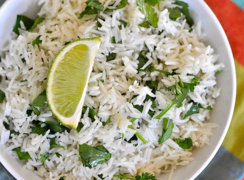 Chipotle Lime Rice Recipe