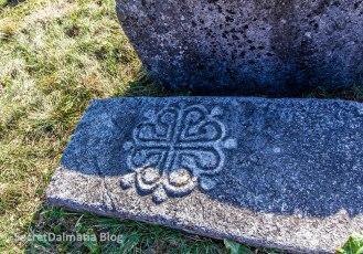 Boljuni with necropolis stećak tombstones