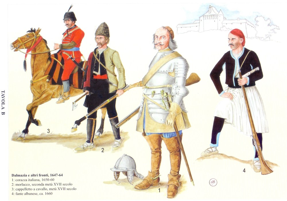 Venetian warriors of 17th century