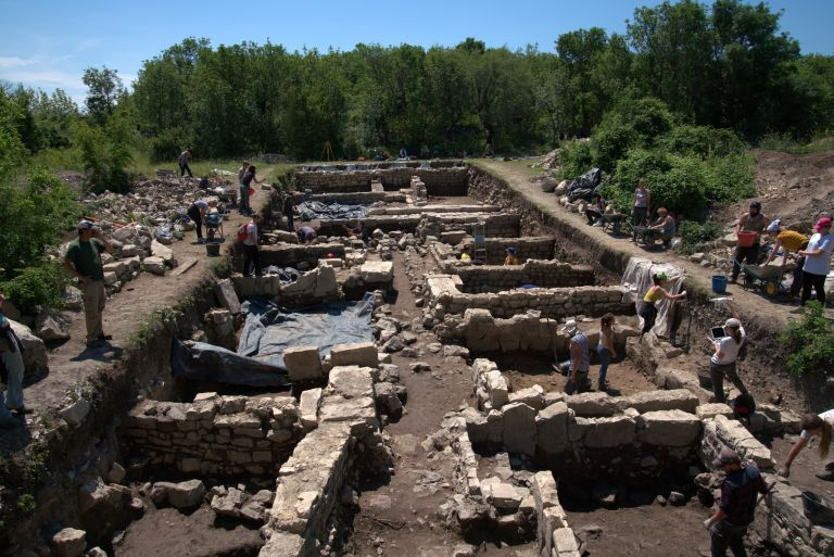 Excavations at Nadin