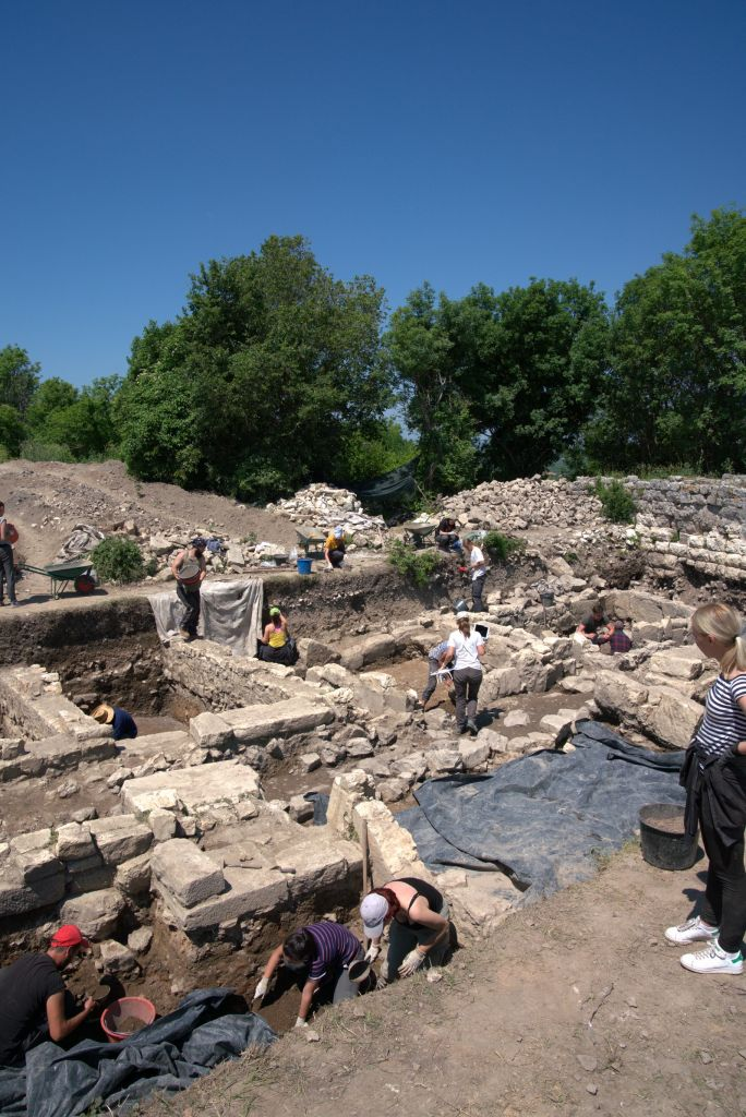Archaeological excavations at Nadin