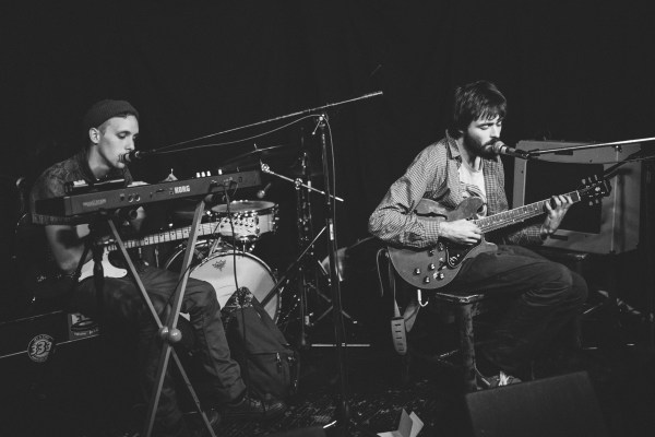 Fog Lake With Derek Ashley (Synth, Guitar) The Ship 2014 Photo by Noah Bender