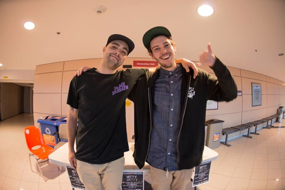 Jared Hawco & Jacob White - Directors of Nitty Gritty. Photo by Adam Lannon
