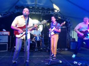 Michael Freuerstack and band, photo by Ben Burnett