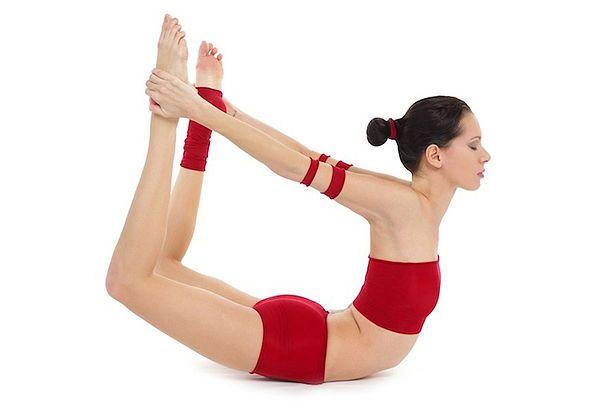 Dhanurasana pour le yoga