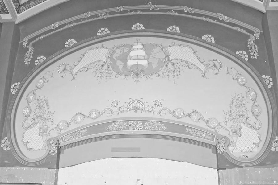 interior cazino constanta pictura perete