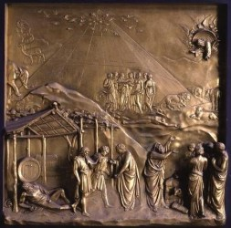 """Povestea lui Noe"" de Lorenzo Ghiberti"