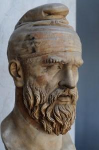 Cap de dac - Vatican - posibil Decebal
