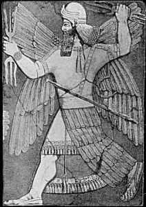 Depiction of Marduk