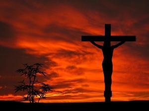 crucifixion-sunset-silhouette-series-david-dehner