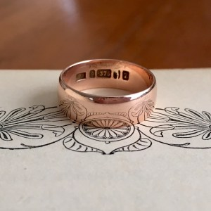 Art Deco Cigar Band