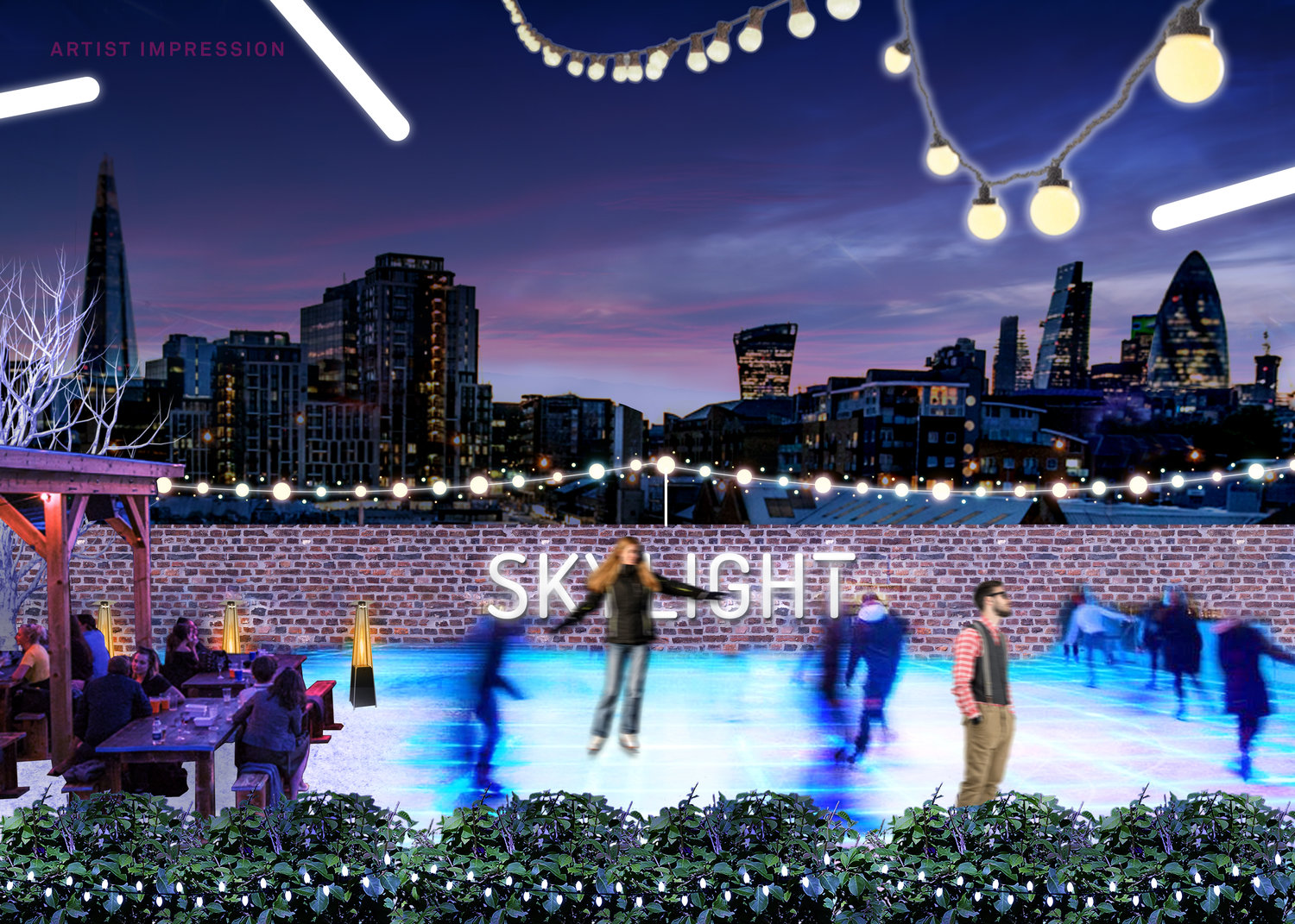 ice skating in london 9 magical ice rinks to skate on in 2017