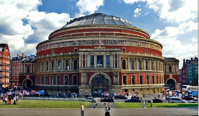 royal Albert hall box