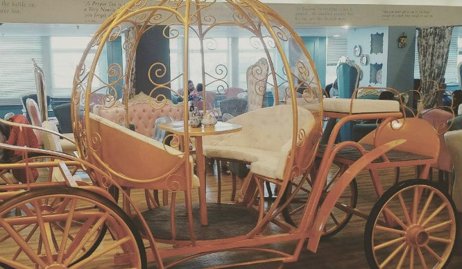 Take afternoon tea in a cinderella carriage in london for How to build a carriage