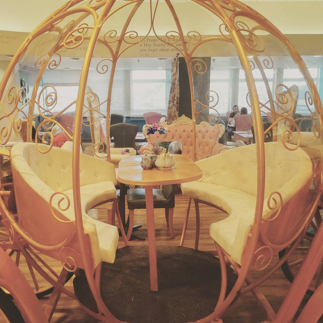 Take afternoon tea in a cinderella carriage in london Cinderella afternoon tea