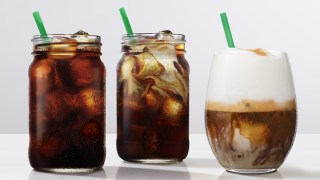 Starbucks cold coffee brew tasting event, London