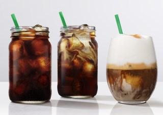 Starbucks cold coffee brew tasting event, London