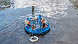 Blue Hot Tug