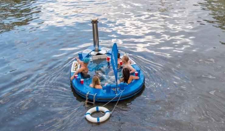 Blue Hot Tug