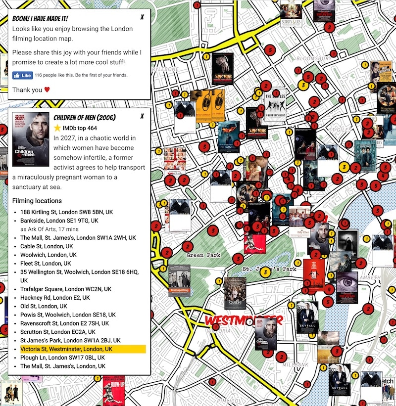 Film Map Children Of Men