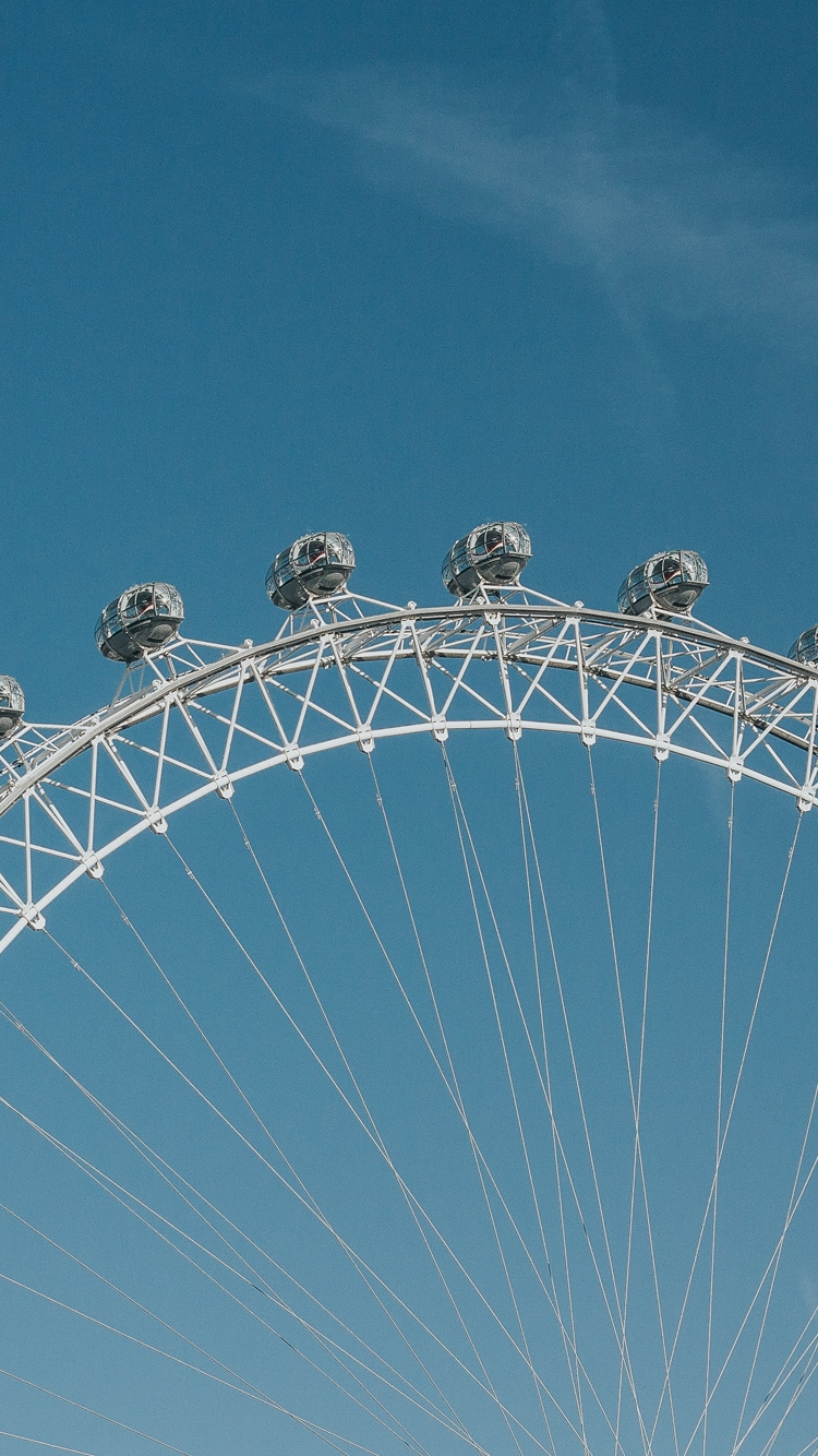 London Eye iPhone background