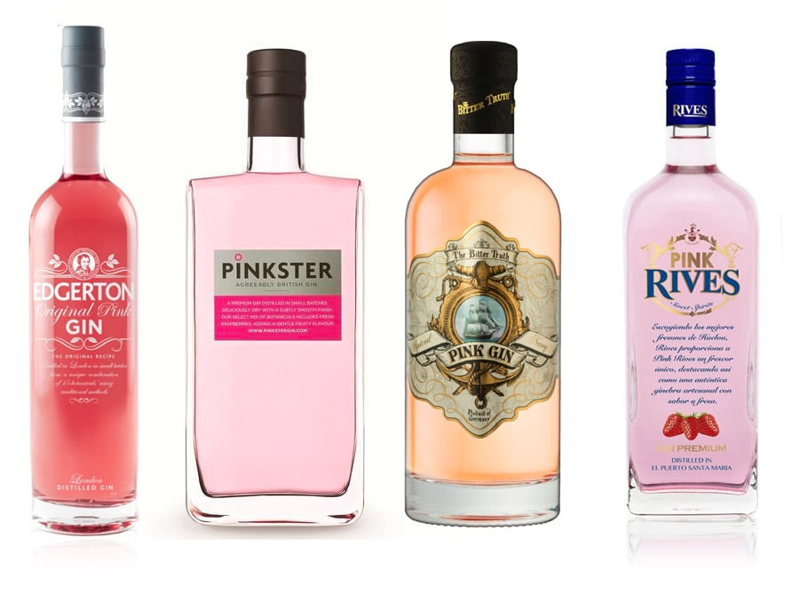 Pink Gin brands