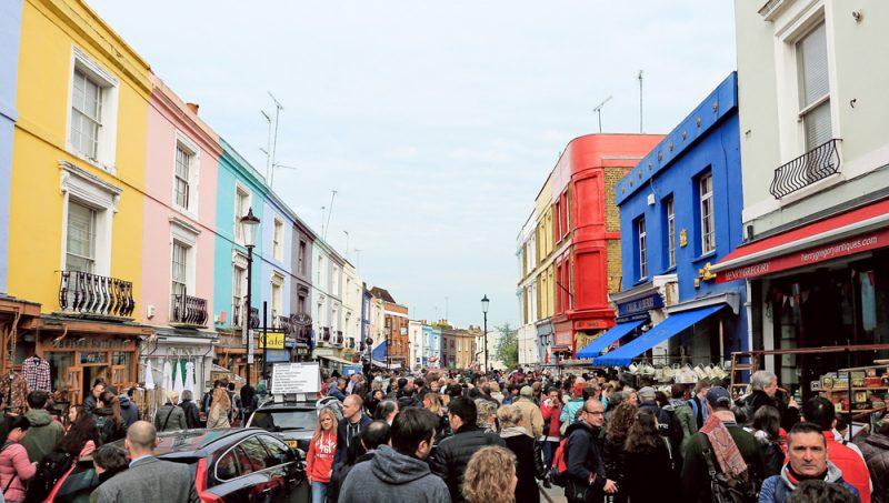 Portobello Road Market, Notting Hill