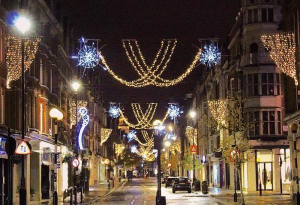 christmas lights london # 12