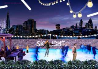 Rooftop Ice Rink London