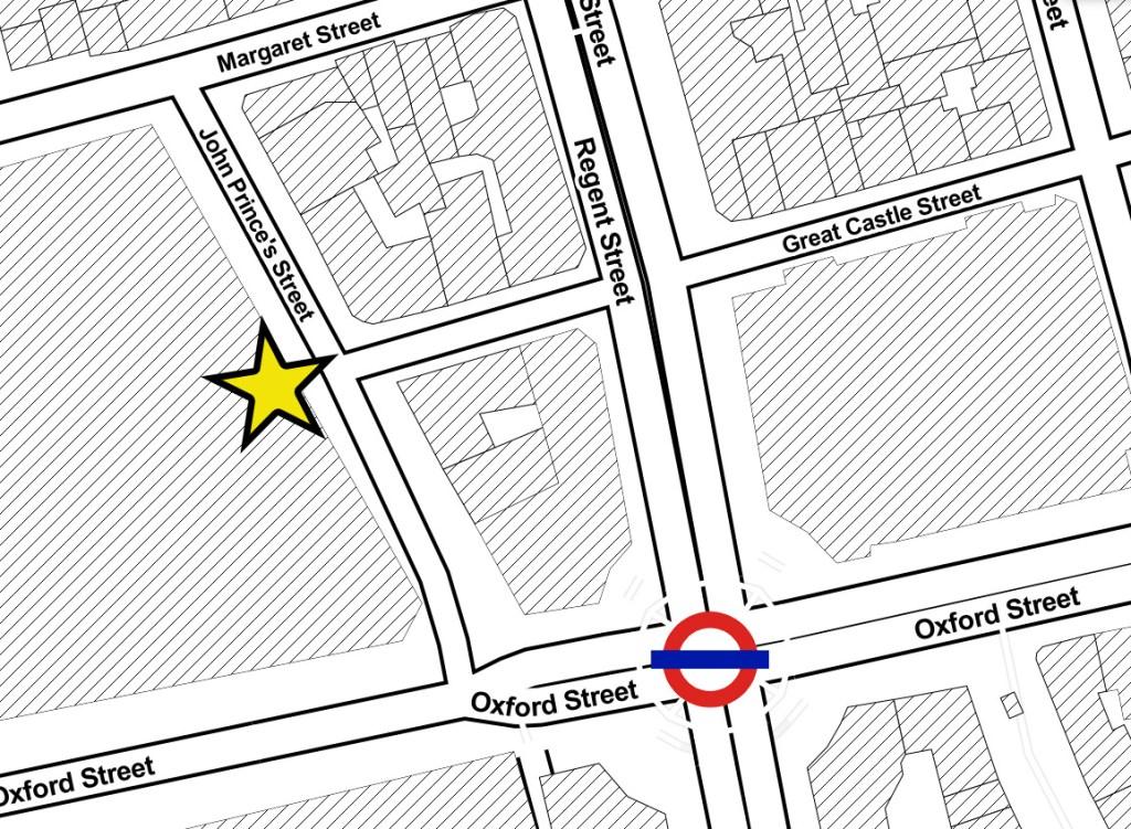 swingers oxford street map