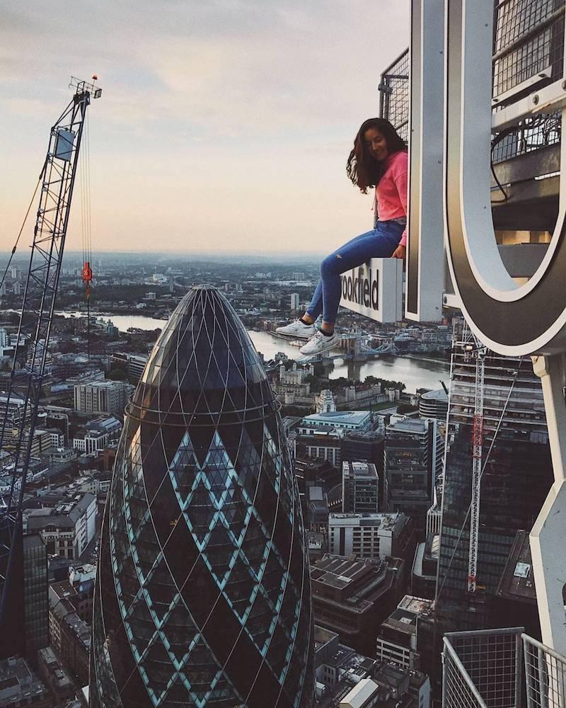 London urban explorer instagrams