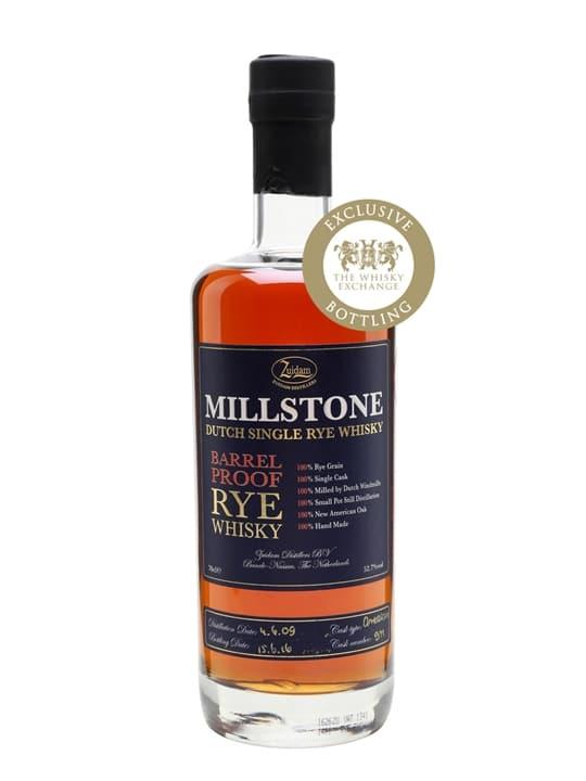 Zuidam Millstone 2009 Barrel Proof Rye