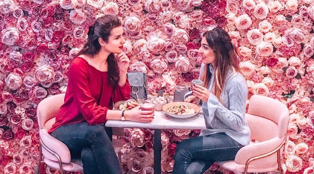 Elan Cafe Pink London