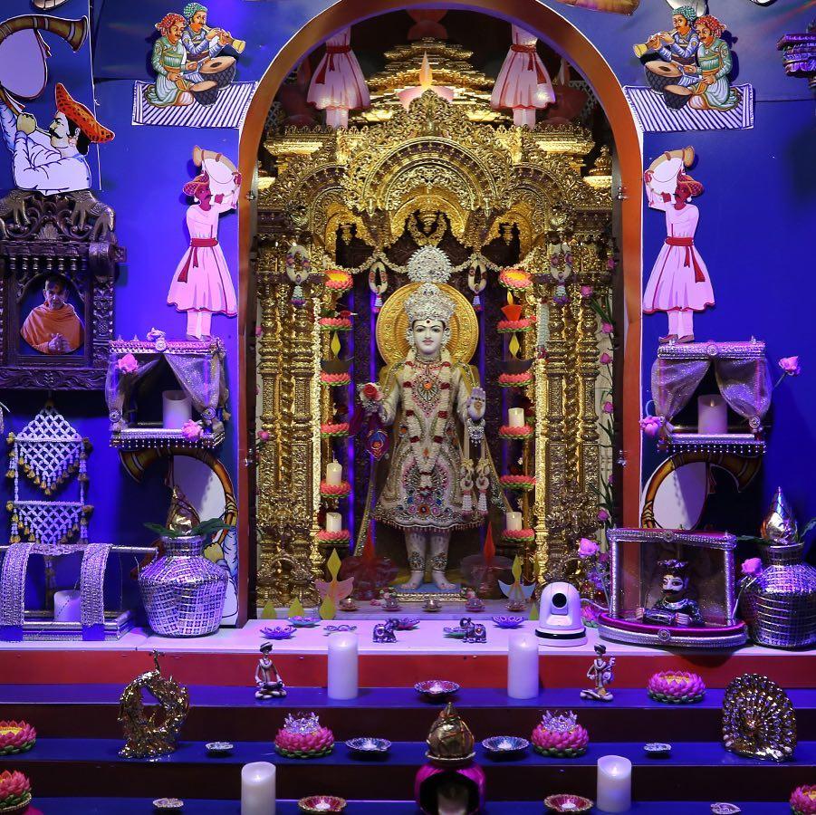 Hindu deity shrine