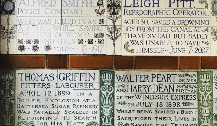 Postmans Park Heroes Sacrifice London