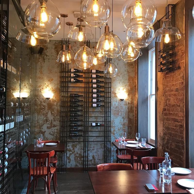 The Ninth Restaurant, Charlotte Street