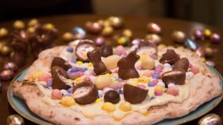 Easter Egg Pizza