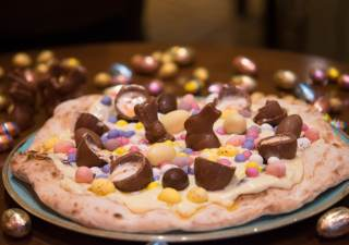 Easter Egg Pizza