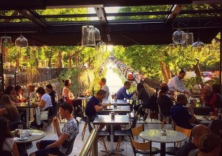 6 high rise restaurants with breathtaking views of londons nye the gorgeous italian cafe sitting above regents canal malvernweather Gallery