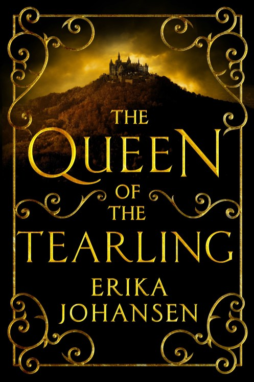 THE QUEEN OF TEARLING - by Erika Johansen - Harper Collins Publisher - book cover - HANDOUT