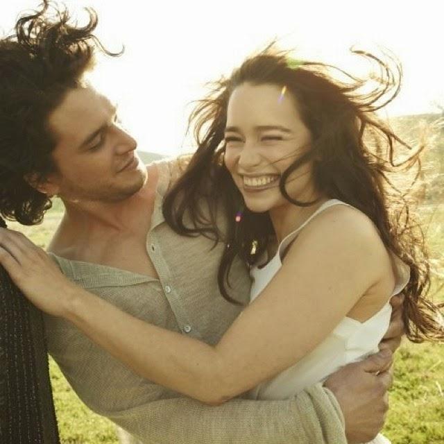 Dopo Kit Harington, anche Emilia Clarke a Napoli per lo spot di D&G