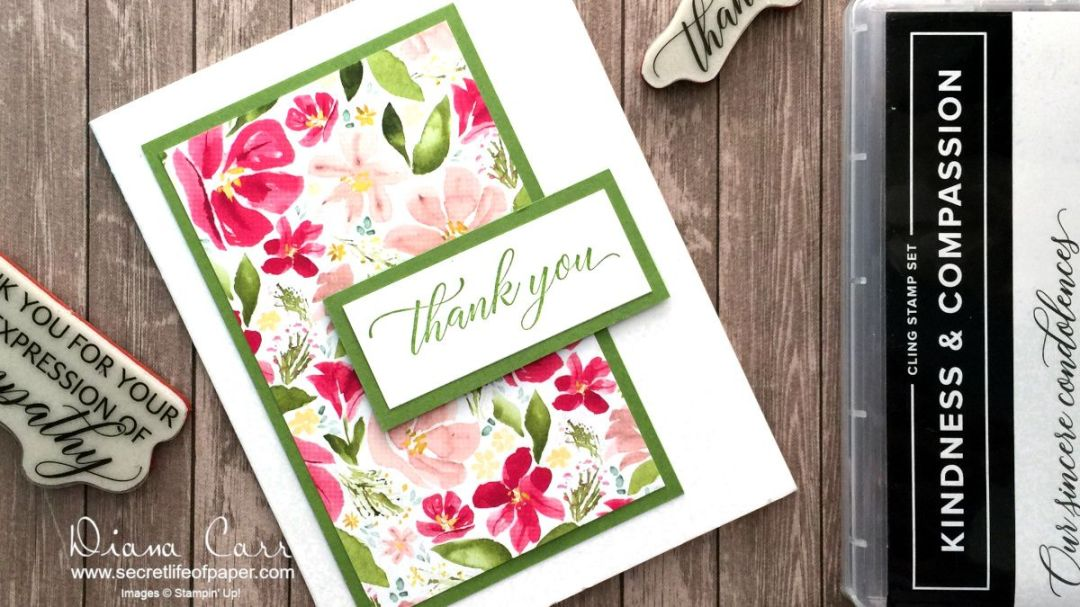 Stampin' Up! Kindness & Compassion