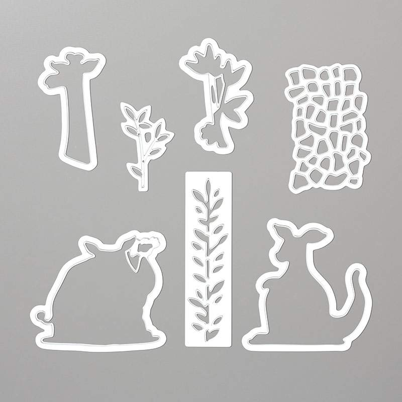 Stampin Up Animal Friends Dies