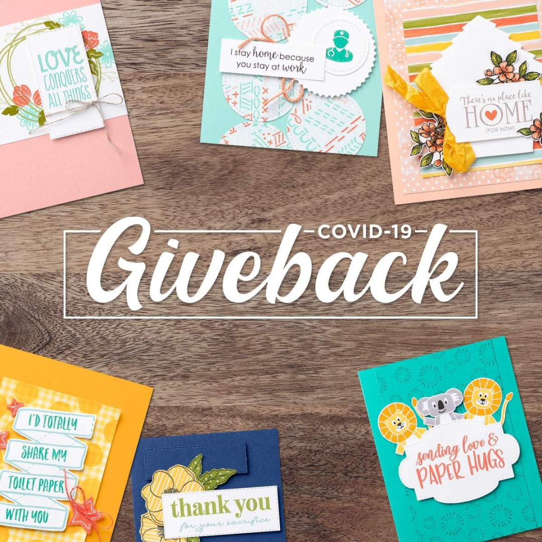 Stamping Up Covid Giveback